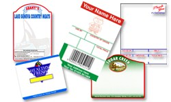 Pre-printed Direct Thermal Labels
